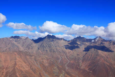 late autumn in the Caucasus. View from the top 写真素材