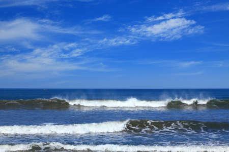 sea surf at the pacific ocean coast