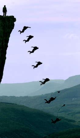 fallschirm: Base-Jumping
