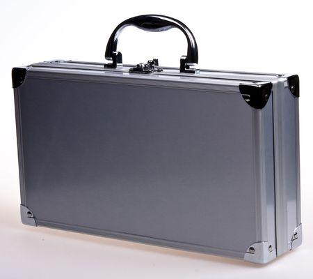 Metal case Stock Photo