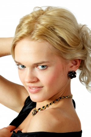 Young, beautiful, harmonous, blonde sexual Stock Photo - 17065734