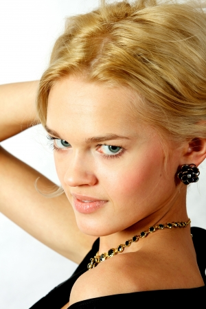 Young, beautiful, harmonous, blonde sexual Stock Photo - 17065881
