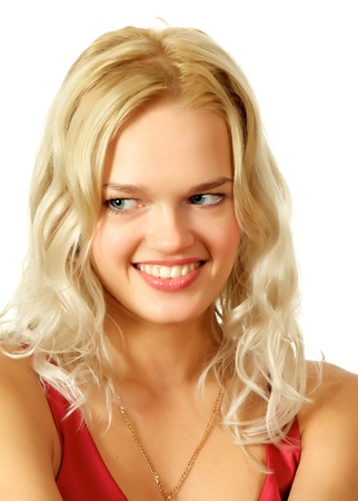 Young, beautiful, harmonous, blonde sexual Stock Photo - 17065767