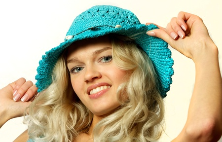 Young, beautiful, harmonous, blonde sexual Stock Photo - 17065860