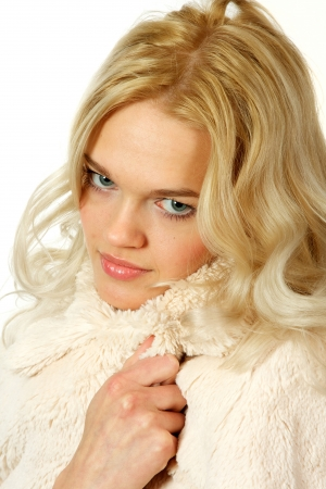Young, beautiful, harmonous, blonde sexual Stock Photo - 17065877