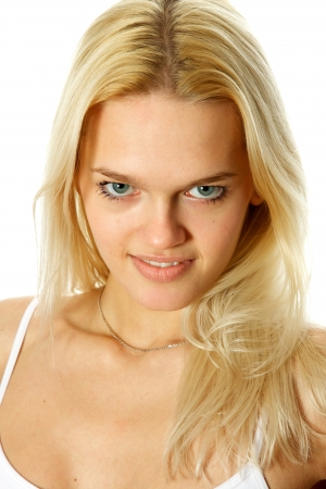 Young, beautiful, harmonous, blonde sexual Stock Photo - 17065832