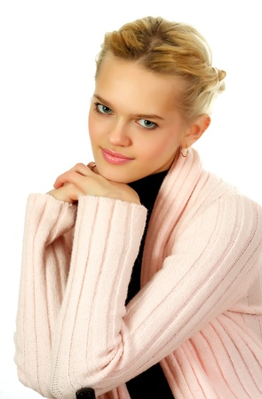 Young, beautiful, harmonous, blonde sexual Stock Photo - 17065522