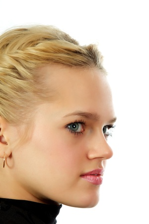 Young, beautiful, harmonous, blonde sexual Stock Photo - 17065622