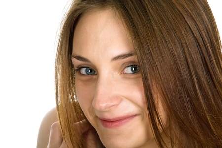 Picture of the young, beautiful  girl Stock Photo