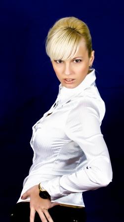 young, beautiful blonde
