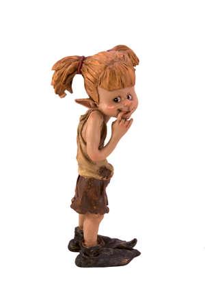statuettes: Figurine dvochka troll