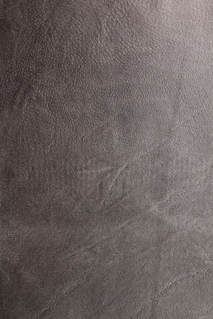 graining: natural shiny black leather background textured with graining patterns Stock Photo