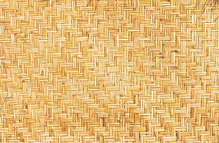 Weaved straws of palm leaves as horizontal background