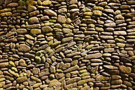 horisontal: Pebble pavement closeup for horisontal design background