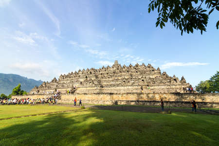 jogjakarta: Borobudur temple near Yogyakarta on Java island, Indonesia