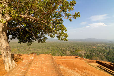 Ruins on top of Sigiriya Lion Stock Photo - 15932283