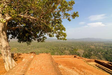 Ruins on top of Sigiriya Lion Stock Photo - 15932283