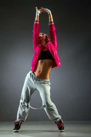 Beautiful dancer Studio Shot photo