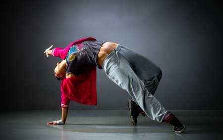 Mooie danser Studiofoto Stockfoto