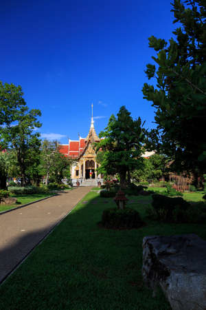 Wat Chalong is the most important temple of Phuket photo