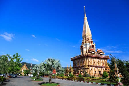 phuket province: Wat Chalong is the most important temple of Phuket