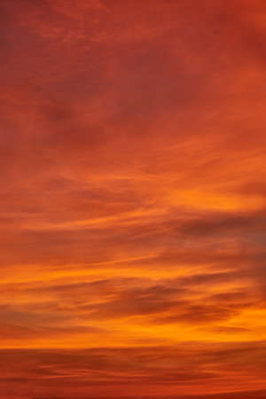 Magic Unreal Colorful Sky at Sunrise. Thailand Фото со стока