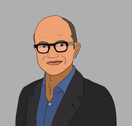 2017 년 6 월 : CEO Satya Nadella