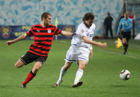 voronin: MOSCOW - MAY 5: The championship of Russia on football: Dynamo (Moscow) - Amkar (Perm) - (1:1), May 5, 2010 in Moscow, Russia.