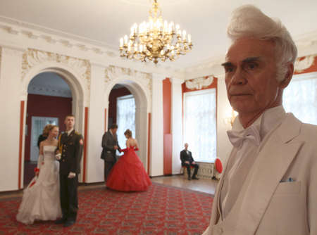 Red Hill - Spring ball Moscow Nobility Assembly in the House of officers of the Moscow Military District, April 10, 2010 in Moscow, Russia.