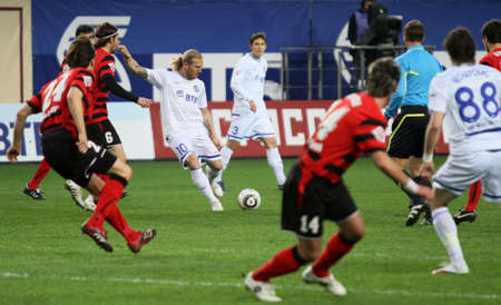 voronin: The championship of Russia on football: Dynamo (Moscow) - Amkar (Perm), May 5, 2010 in Moscow, Russia.