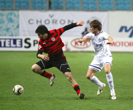 The championship of Russia on football: Dynamo (Moscow) - Amkar (Perm), May 5, 2010 in Moscow, Russia.