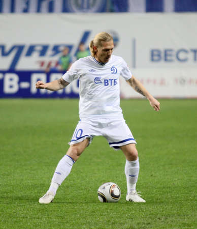 voronin: MOSCOW - MAY 5: The championship of Russia on football:  Editorial