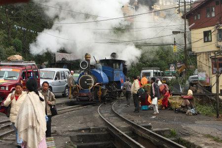 pilgrim journey: Darjeeling town, eastern Himalayas