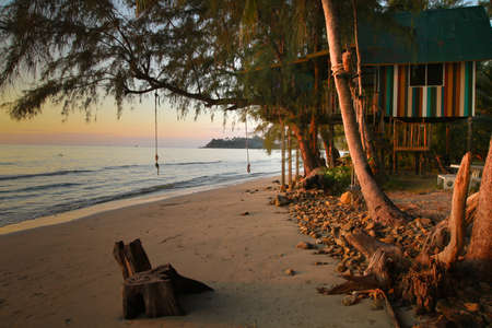 Bungalow on the shores of the Gulf Siam