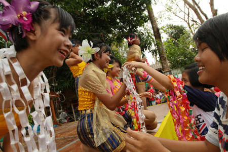 KO CHANG, THAILAND - JANUARY 14: Celebrating Thailand National Children's Day, known as Wan Dek, on January 14, 2012 on Ko Chang, Thailand.