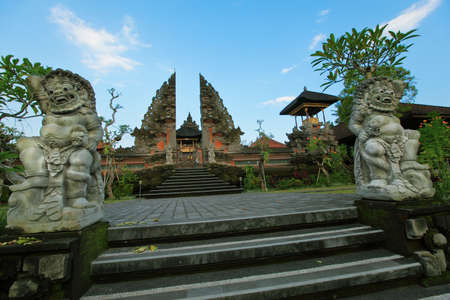 Temple Pura Puseh in Ubud on Bali, Indonesia  Stock Photo - 13071748