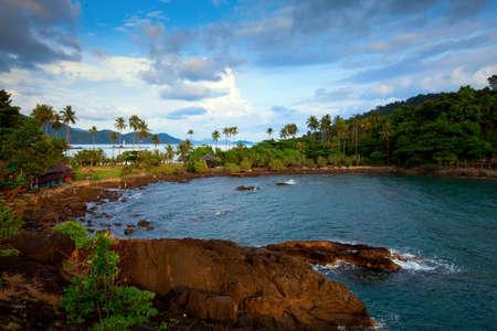 Beautiful view of the Ko Chang island, Thailand