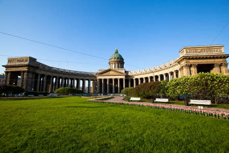 Kazan Cathedral, St  Petersburg, Russia