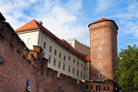 wawel: Wawel castle, Krakow, Poland  Editorial