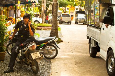 KO CHANG, THAILAND - NOVEMBER 18: Unidentified participate at local Ko Chang Elections, November 18, 2012 on Ko Chang island, Thailand. Elections their own district councils and Mayor, 4 years cycle. Stock Photo - 16377648