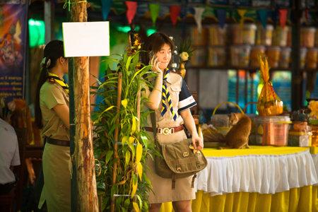 KO CHANG, THAILAND - NOVEMBER 18: Unidentified participate at local Ko Chang Elections, November 18, 2012 on Ko Chang island, Thailand. Elections their own district councils and Mayor, 4 years cycle. Stock Photo - 16377639
