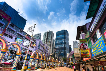KUALA LUMPUR, MALAYSIA - MARCH 29: One of the streets in the city center on March 29, 2012 in Kuala Lumpur. KL was ranked 48th among global cities by Foreign Policys and 67th among global cities for economic and social innovation.