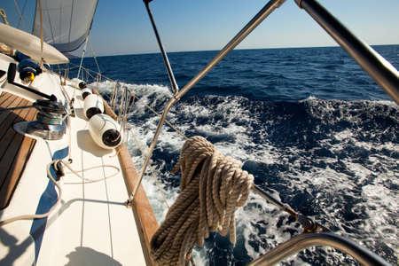 the yacht: Sailing yacht race