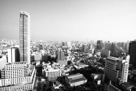 amasing: Bangkok, Thailand (black and white photo)