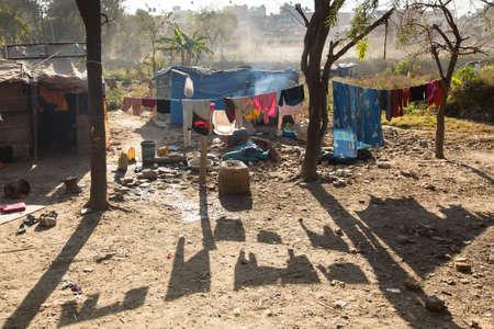 slums: Slums in Kathmandu valley