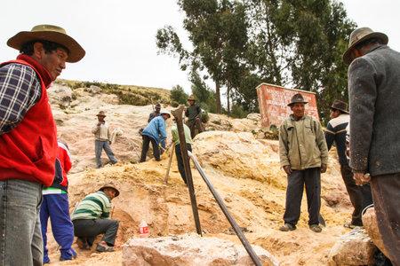 actividad econ�mica: ISLA DEL SOL, BOLIVIA - 21 de enero: No Identificados los aymaras locales en su pueblo, 21 de enero de 2011, sobre la Isla del Sol, Bolivia. Actividad econ�mica principal de 800 familias en la isla es la agricultura, la pesca y el turismo