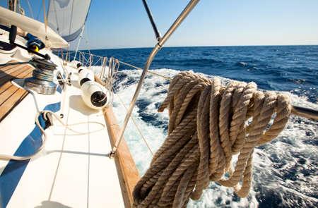 sailboat race: Sailing regatta.