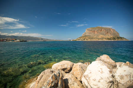laconia: Greek town Monemvasia in Laconia south-eastern peloponnese.