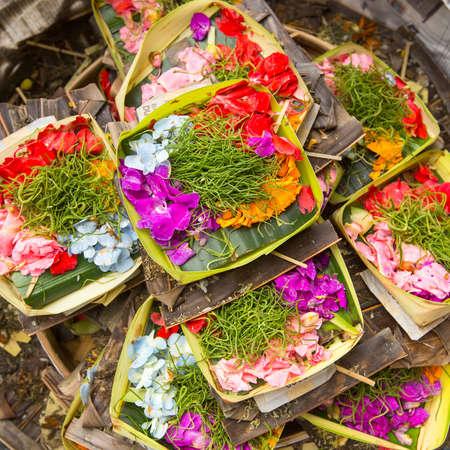 sacrificio: Hierbas de sacrificio en Bali