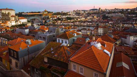 View of Old Porto and Dora river, Portugal.